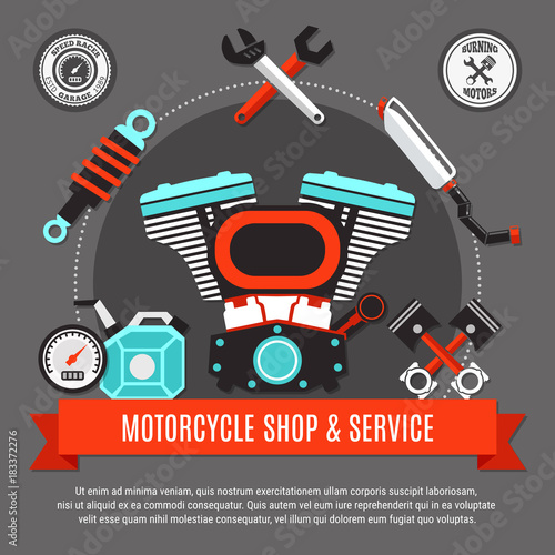 Motorcycle Shop And Service