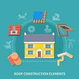 Roofer Flat Composition - 183372683