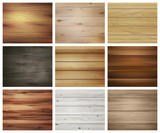 Wooden Texture Pattern Set - 183376266