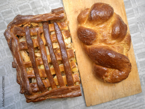 Apple Pie And Bread