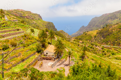 Foto op Aluminium Honing Gomera island panorama .Canary
