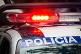 Emergency Police car - 183395878