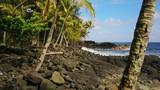 Beautiful and rugged coastline of Hawaii. - 183396212