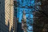 Chrysler Building at daylight in winter afternoon - 183423054