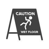 Wet Floor Sign - 183435849