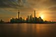 Quadro Oriental pearl tower, Shanghai world financial center jinmao tower and the Shanghai skyline