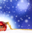 christmas backgrounds with ornaments and christmas ball