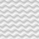 White seamless texture,pattern of abstract waves