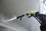 マンション外壁の洗浄作業 - 183455816