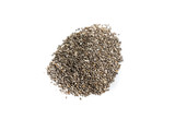 Pile of chia seeds - 183460691