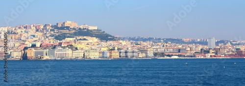 Foto op Canvas Napels Naples skyline, Italy