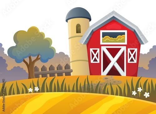 Plexiglas Voor kinderen Farm topic image 9