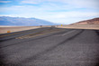 Empty parking area in Death Valley National Park
