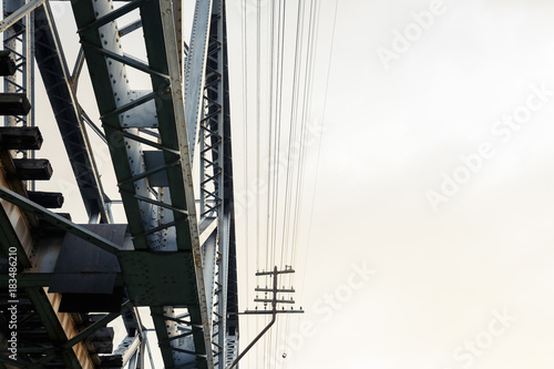 Abstract Railway Bridge - 183486210