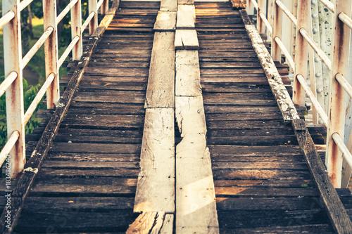 Naklejka Vintage Walkway