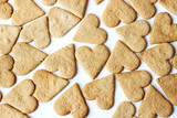 Cookies in the form of heart for Valentine's day - 183486446