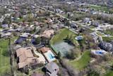 Aerial View of Suburban Neighborhood - 183492457