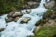 The waterfall of lovers in the forests of Abkhazia. - 183493236