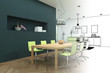 Entwurf moderne Wohnung