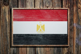 Wooden Egypt flag - 183498296