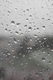 Drops of rain on the window - 183499088