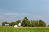 Abandoned Rural Homestead with Copy Space - 183506205