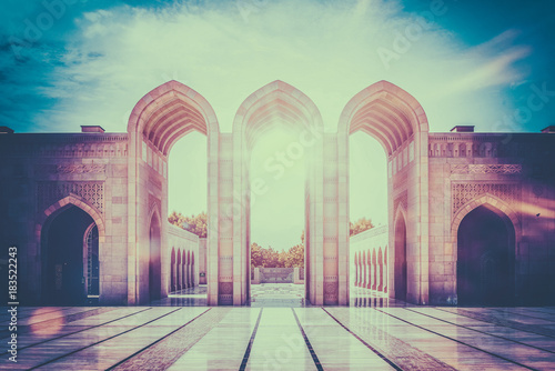 Inspirational image of stone arched entry way