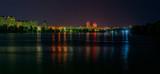 Night embankment on Obolon.Kiev.. - 183526684