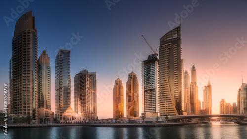 Foto op Plexiglas Dubai Dubai Marina bay