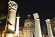 Quadro Fori imperiali  notturno romano