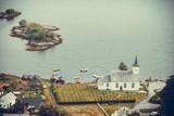 Bruvik Lutheran Church, island Osteroy Norway - 183559440