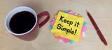Keep it Simple! - 183577461