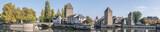 Panorama sur les Ponts Couverts (Strasbourg, France) - 183579830