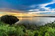 Sonnenuntergang am Viktoriasee
