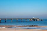Seebrücke von Bansin im Winter - 183589607