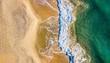 vue aérienne de la plage - 183598210
