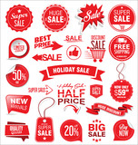 Super sale badges and labels vector collection - 183599672