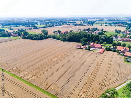 In de dag Zalm Landschaft in Deutschland