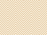 Linear gold geometrical zigzag background. Vector illustration. - 183612479