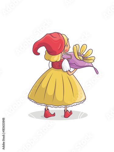 Little queen fairy