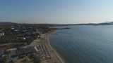 Grèce Cyclades île de Naxos vue du ciel - 183643607