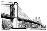 Brooklyn bridge in New York