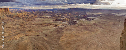 Foto op Plexiglas Cappuccino Canyonlands National Park,Green River , Utah, USA, Panorama