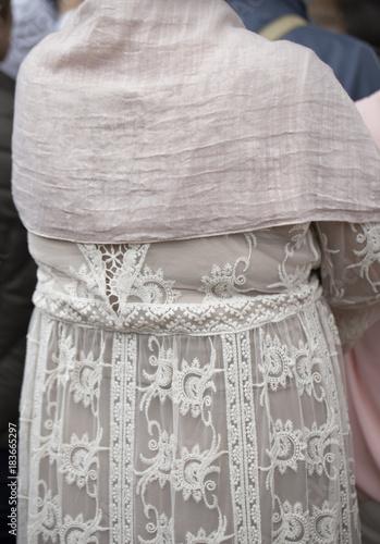 Close up of a dress