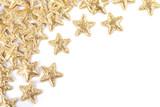 golden confetti stars - 183678810