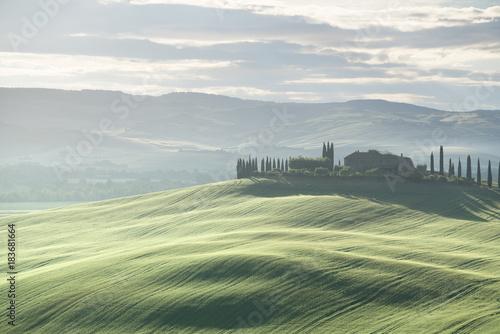 Papiers peints Toscane Tuscany countryside panorama, Italy