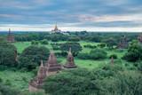 many pagodas under the sky