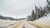 Winter driving - 183703281