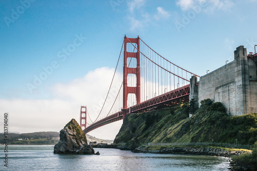 Plakat Golden Gate Bridge from Sausalito II