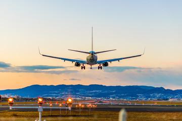 飛行場の着陸
